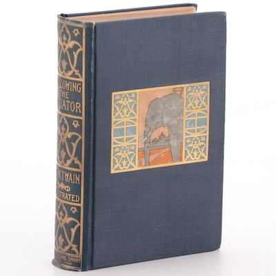 "First Edition ""Following the Equator"" by Mark Twain, 1897"