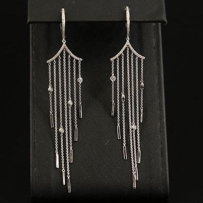 EFFY 14K Diamond Fringe Earrings
