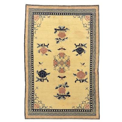5'4 x 8'3 Hand-Knotted East Turkestan Khotan Area Rug