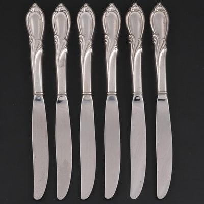 "International ""Rhapsody"" Sterling-Handled Dinner Knives, Mid/Late 20th Century"