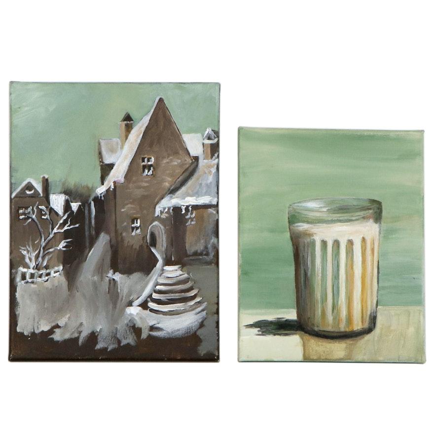 Elaine Neumann Oil Paintings, 21st Century