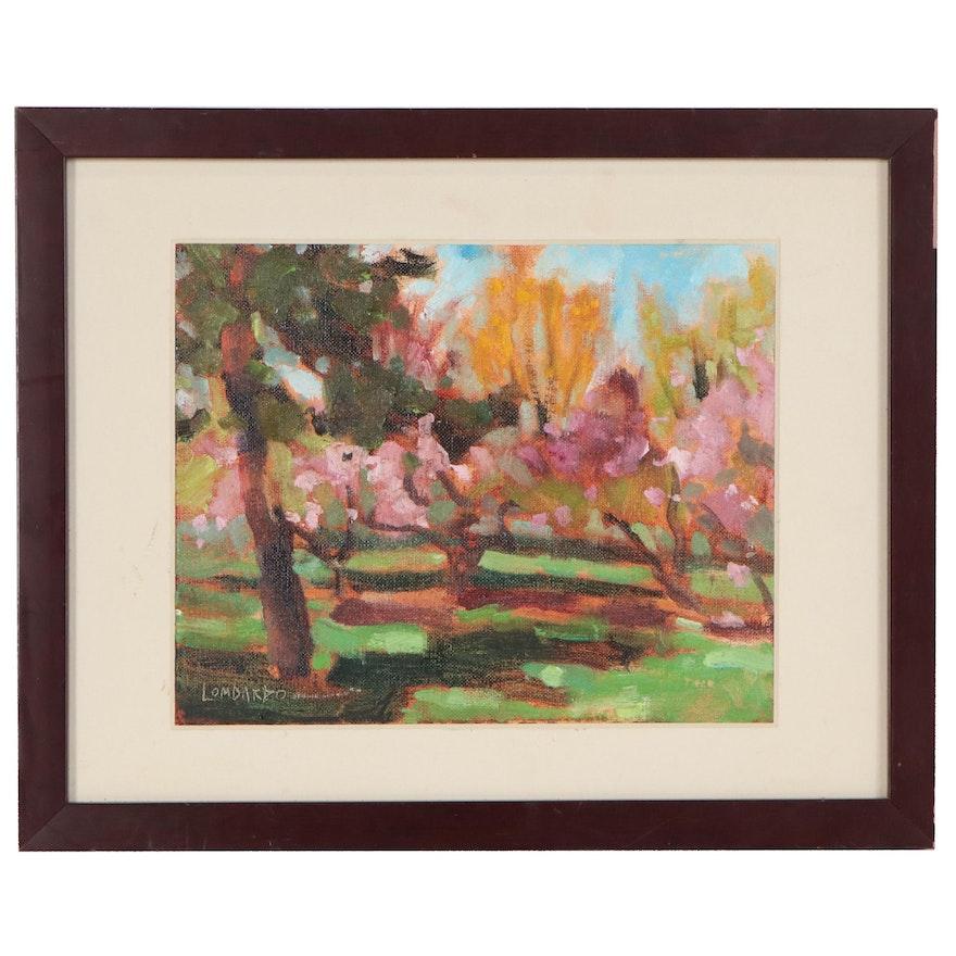 Impressionist Style Landscape Oil Painting, 21st Century