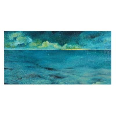 Sebastian Meier Seascape Oil Painting, 2020
