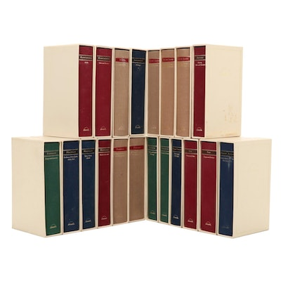 The Library of America Twenty-Volume Set Including Poe, Twain, and More, 1980s