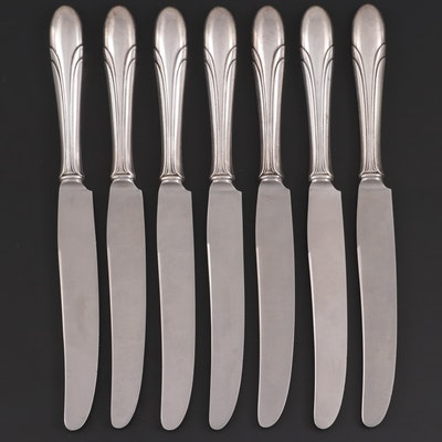 "Towle ""Lady Diana"" Sterling Handled Knives, Mid to Late 20th Century"