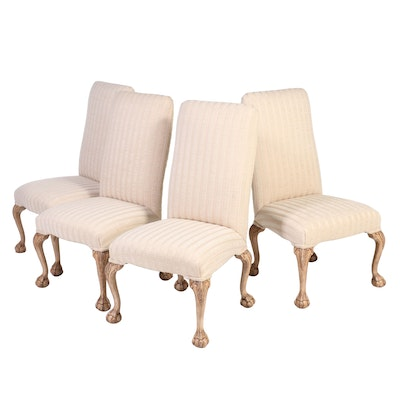Four Emerson et Cie Chippendale Style Side Chairs