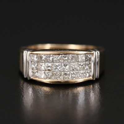 14K 1.08 CTW Diamond Band