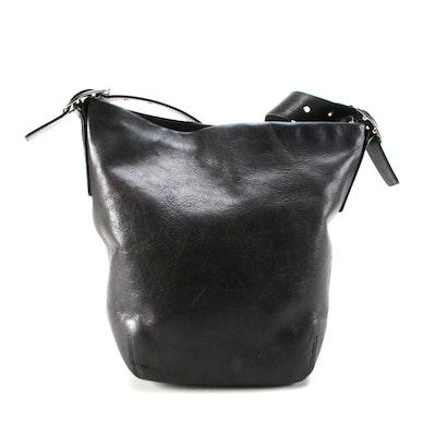 Coach Soho Legacy Bucket Bag in Black Leather