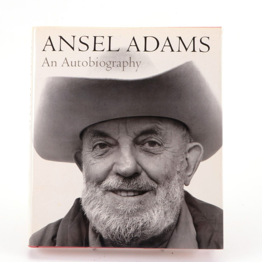 """First Edition """"An Autobiography"""" by Ansel Adams, 1985"""