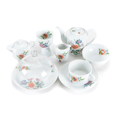 André Giraud & Co. Floral Porcelain Tableware