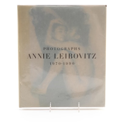 "First Edition, First Printing ""Photographs, 1970–1990"" by Annie Leibovitz, 1991"