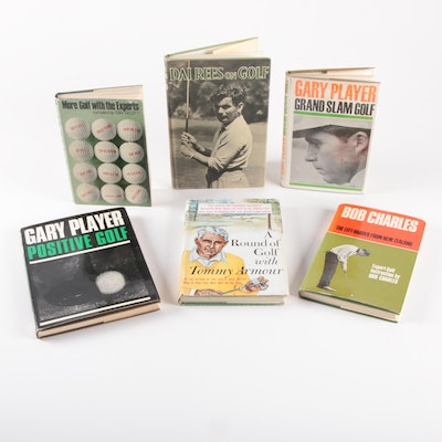 "First Edition ""A Round of Golf if Tommy Armour"" and More Golf Books"