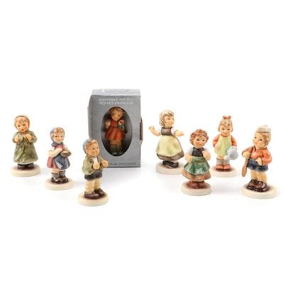 MJ Hummel Club Exclusive Edition Porcelain Figurines
