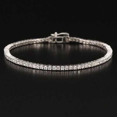 14K 2.53 CTW Diamond Line Bracelet