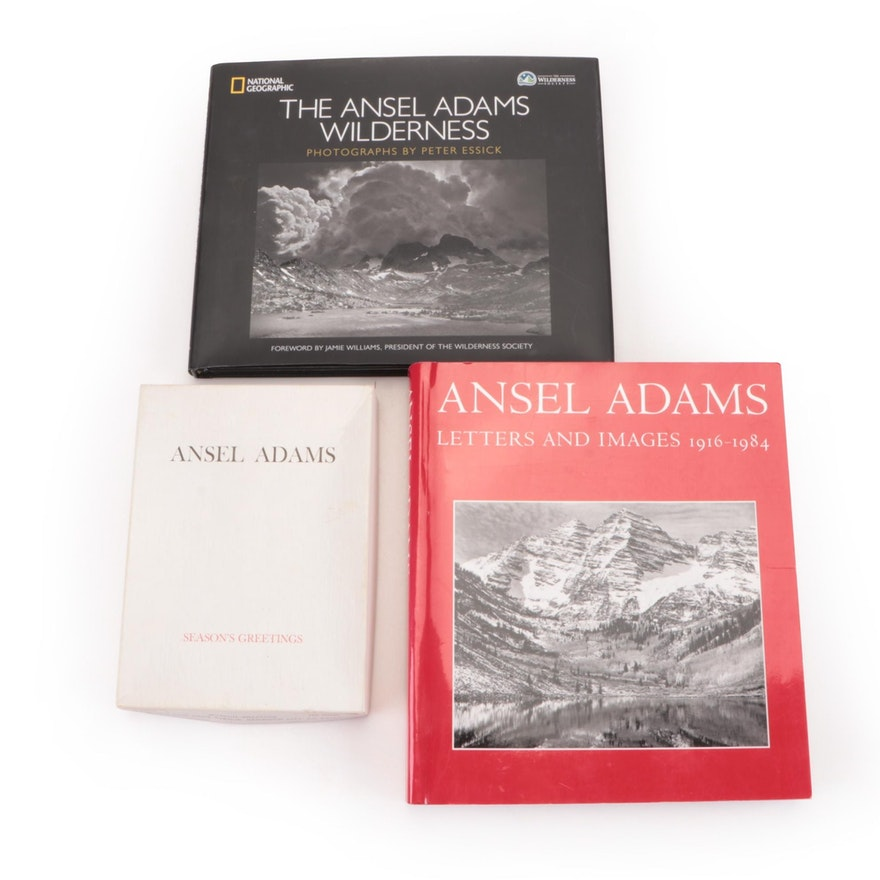 Ansel Adams Photography Books and Cards