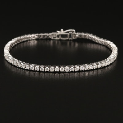14K 2.93 CTW Diamond Line Bracelet