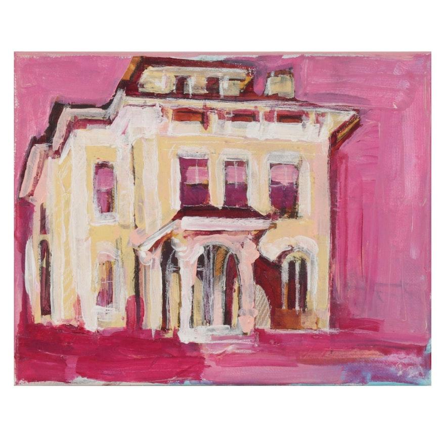"Patrick McCafferty Oil Painting ""Fraiser, Doug and Doug,"" 2020"
