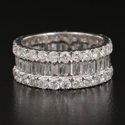 14K 3.98 CTW Diamond Eternity Band
