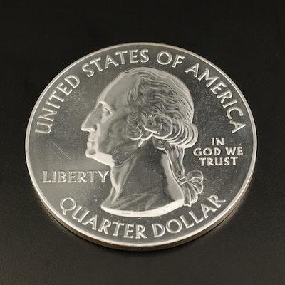 5 Oz. 2014 Everglades America the Beautiful Silver Bullion Coin