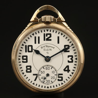 1951 Elgin Gold Filled Railroad Grade Pocket Watch