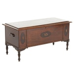 Stewart Safe Seal Jacobean Revival Style Cedar Chest, Early to Mid 20th Century