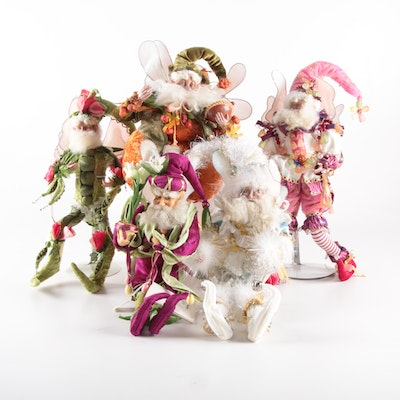 "Mark Roberts Fairy Dolls Including ""Sweet Pea"", ""Pumpkin Pie"" and ""Easter Lily"""