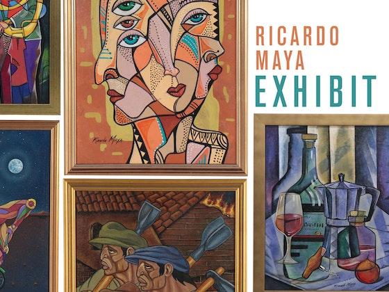 E X H I B I T: Ricardo Maya's Surrealist & Cubist Paintings