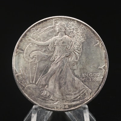 Key Date 1994 $1 American Silver Eagle Bullion Coin