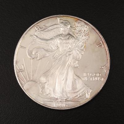 Key Date 1996 $1 American Silver Eagle Bullion Coin