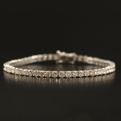 14K 6.76 CTW Diamond Tennis Bracelet