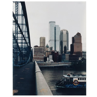 Jaime Bird Digital Photograph of Pittsburgh Cityscape, 2021