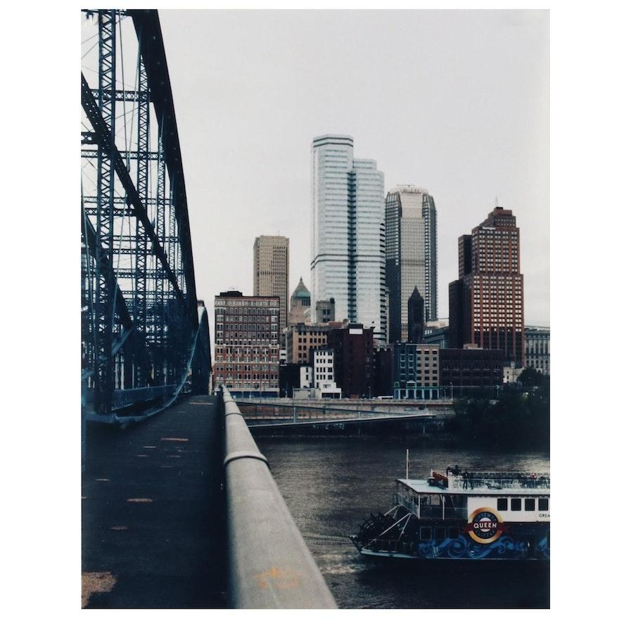 Jaime Bird Digital Photograph of Pittsburgh Cityscape, 2021