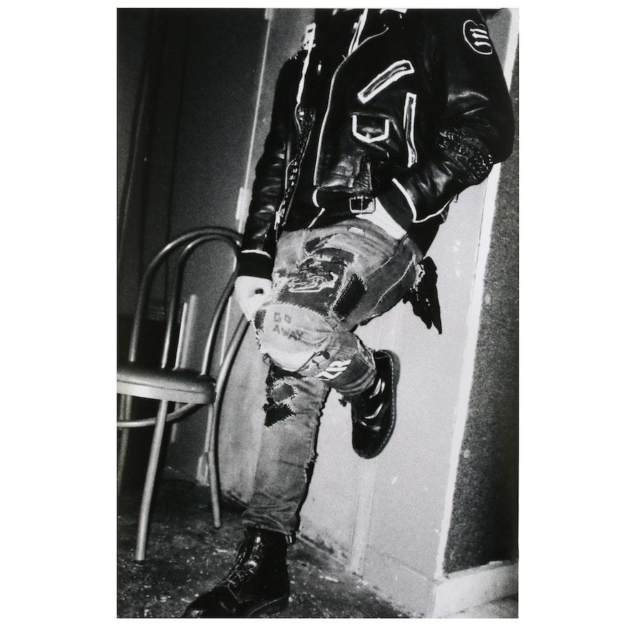 Jaime Bird Black-and-White Digital Photograph, 2021