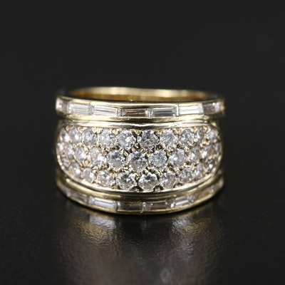 18K 1.50 CTW Diamond Band