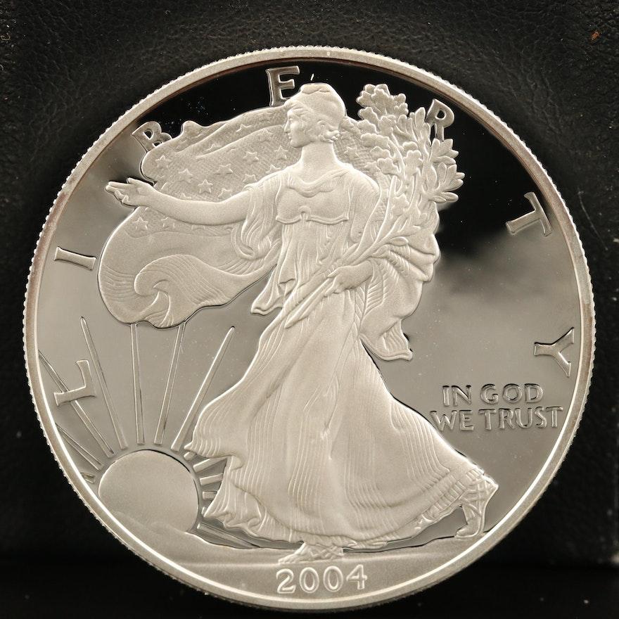 2004-W $1 American Silver Eagle Proof Bullion Coin