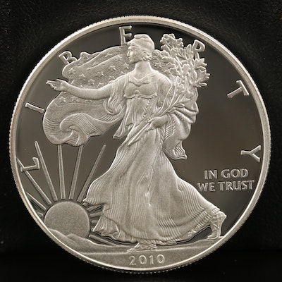 2010-W $1 American Silver Eagle Proof Bullion Coin