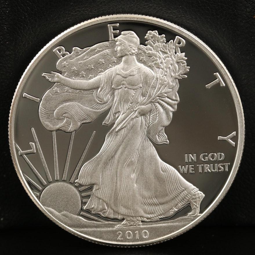 2010-W $1 American Silver Eagle Proof Bullion Coin