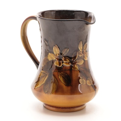 Carolyn Frances Steinle for Rookwood Pottery Standard Glaze Pitcher, 1894
