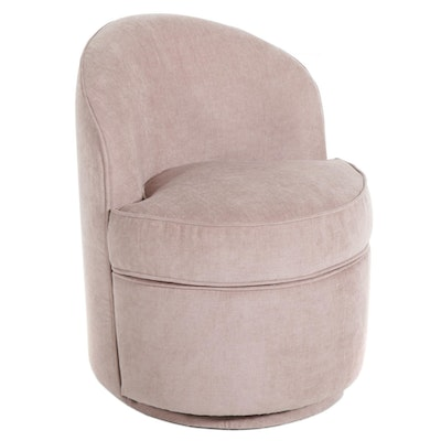 PB Teen Upholstered Swivel Vanity Chair