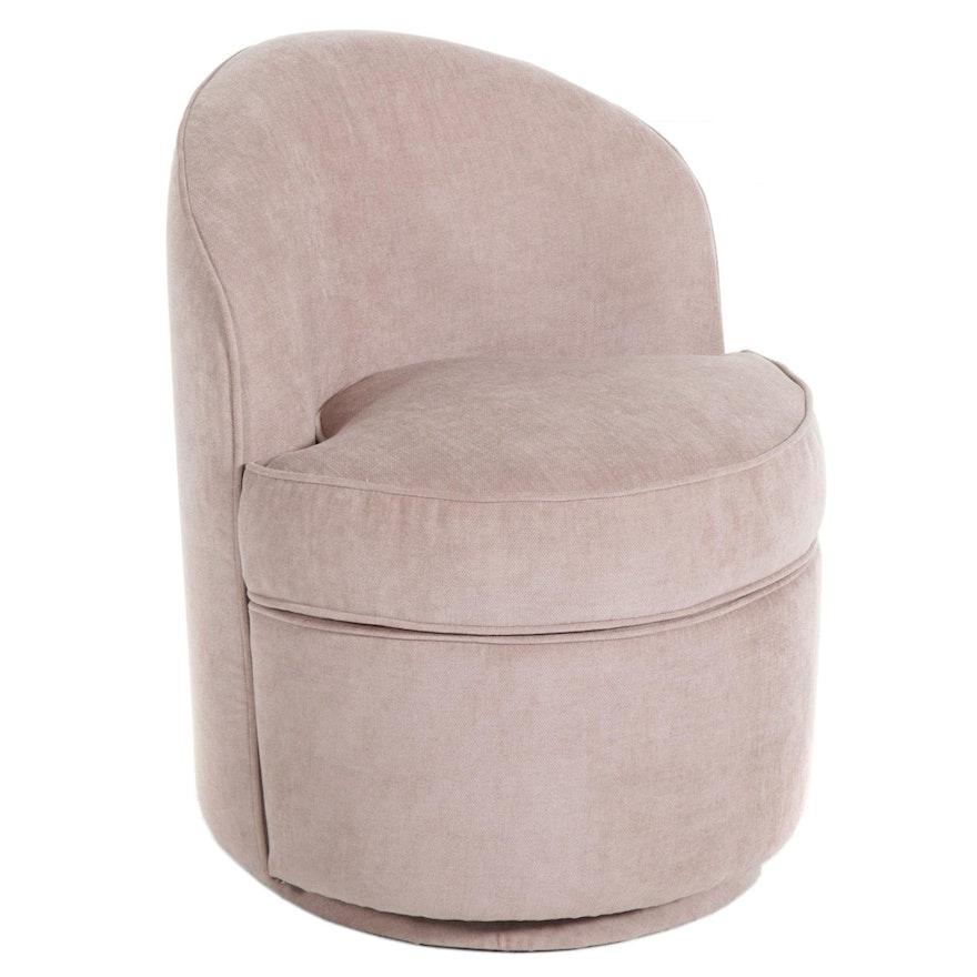 PB Teen Upholstered Swivel Vanity Chair