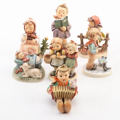 "Goebel ""Just Resting,"" ""Bird Watcher"" and Other Porcelain Hummel Figurines"