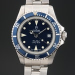 1992 Tudor Lady-Sub Blue Stainless Steel Automatic Wristwatch