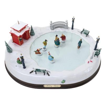 """Mr. Christmas """"Holiday Skaters"""" Christmas Table Decor"""
