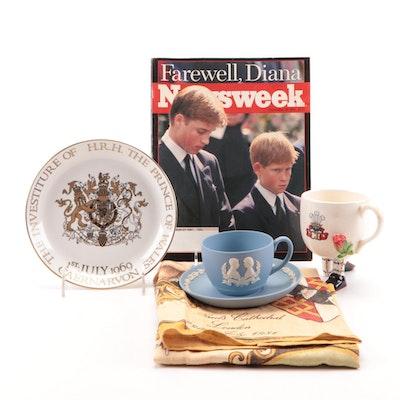 Princess Diana and Prince Charles Wedding and Other Memorabilia