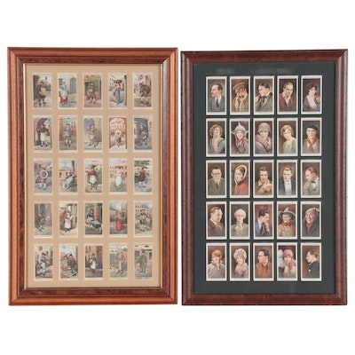 John Player & Sons and W.D. & H.O. Wills Cigarette Cards, Framed