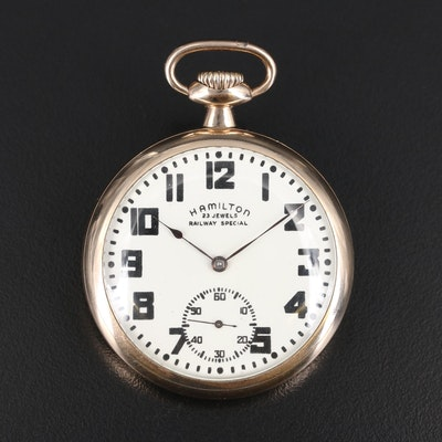 1910 Hamilton Railway Special Pocket Watch
