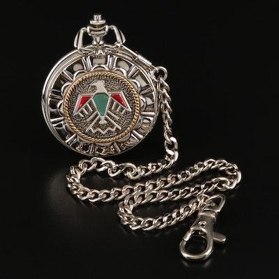 Franklin Mint Thunderbird Pocket Watch