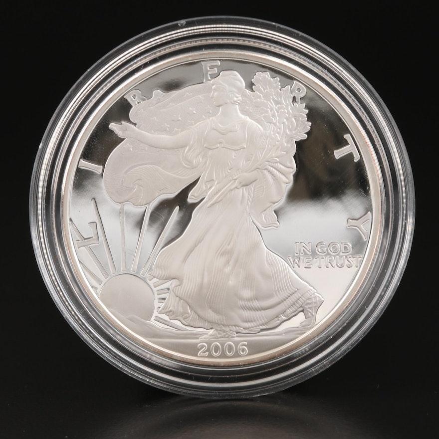 2006-W $1 American Silver Eagle Proof Bullion Coin