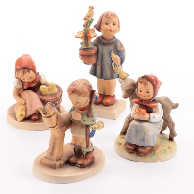 "Goebel ""Prayer Before Battle,"" ""Good Friends"" and Other Hummel Figurines"