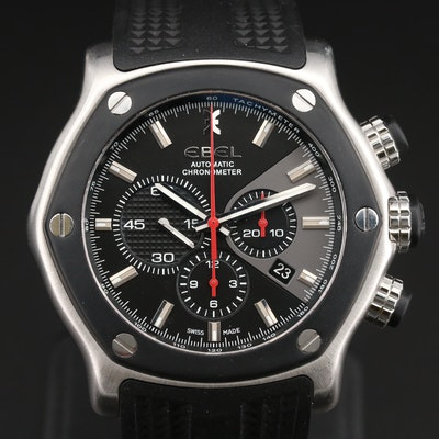 Ebel 1911 Tekton Chronograph Stainless Steel Automatic Wristwatch